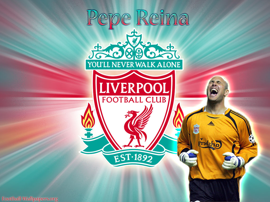 Pepe Reina Wallpaper Liverpool Wallpaper Gallery 1024x768