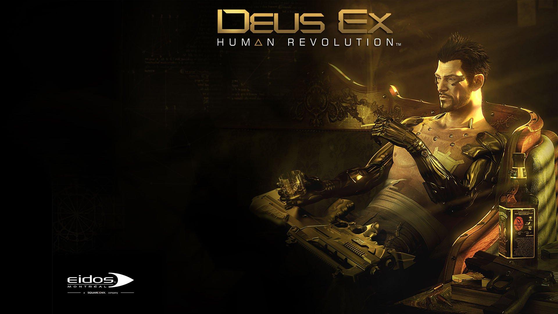 Pics Photos   Deus Ex Human Revolution Ps3 Anime Wallpaper 1920x1080