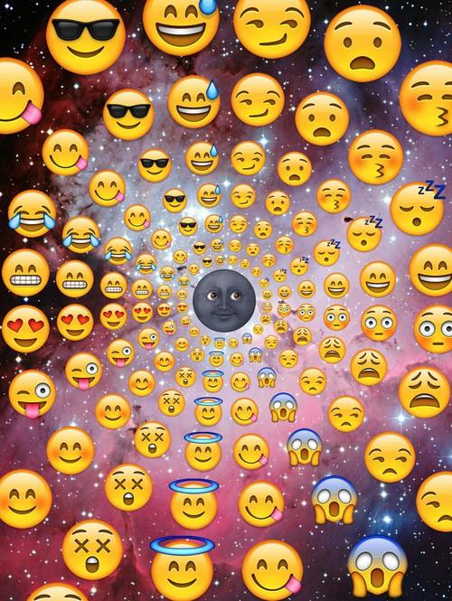 cute emojis background Tumblr 500x665