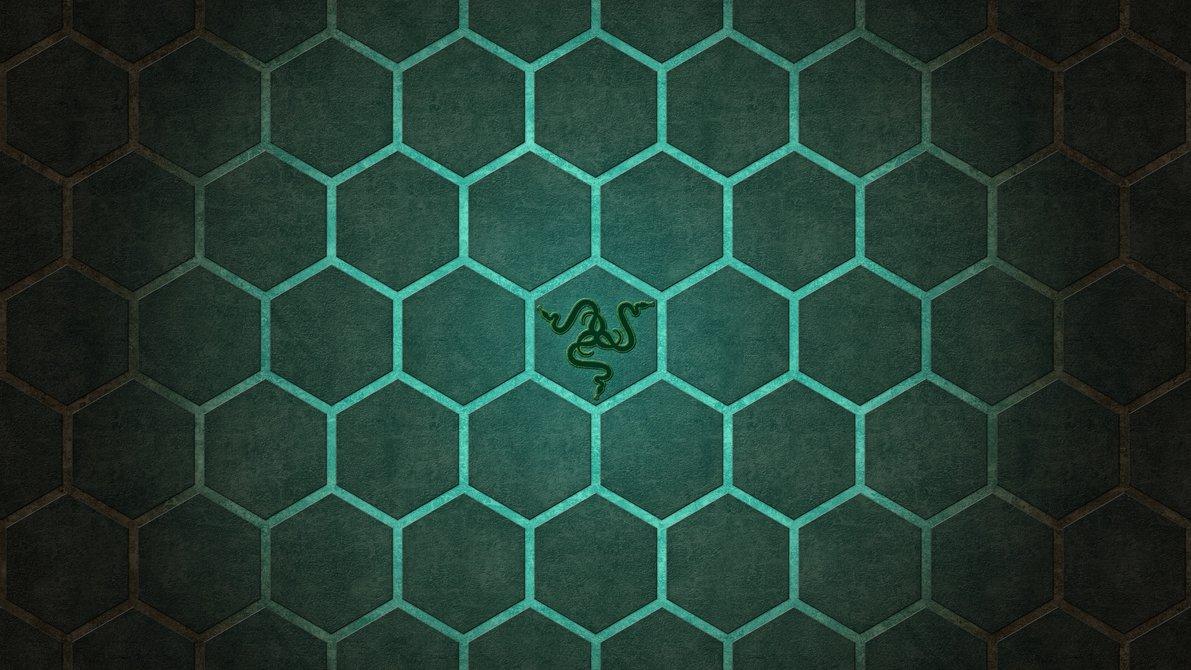 Razer Hexagon UltraHD 4K wallpaper by Locix ITA 1191x670