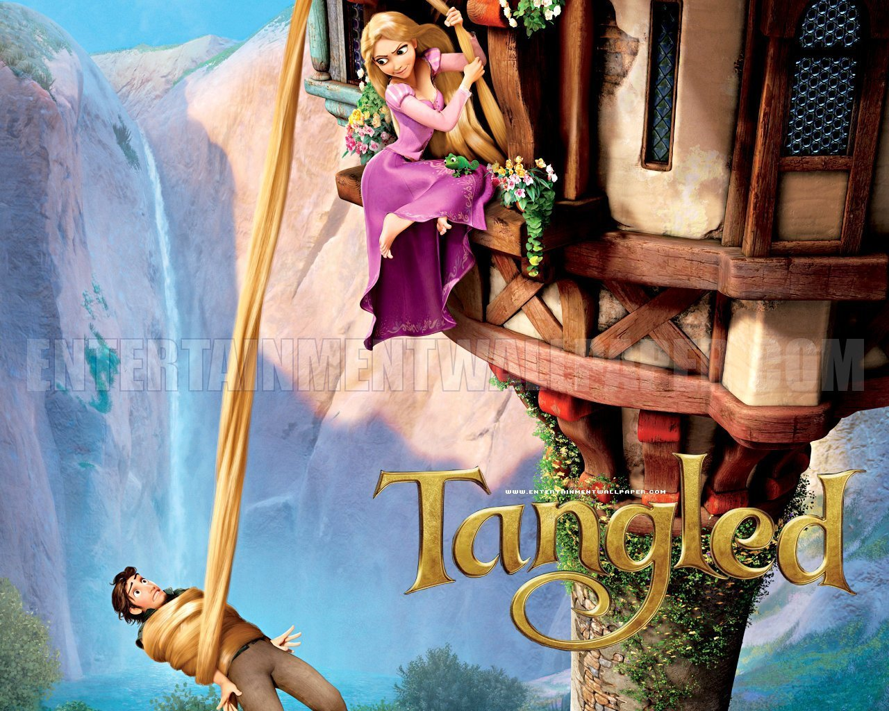 Tangled Disney Wallpaper   Princess Rapunzel from Tangled 1280x1024
