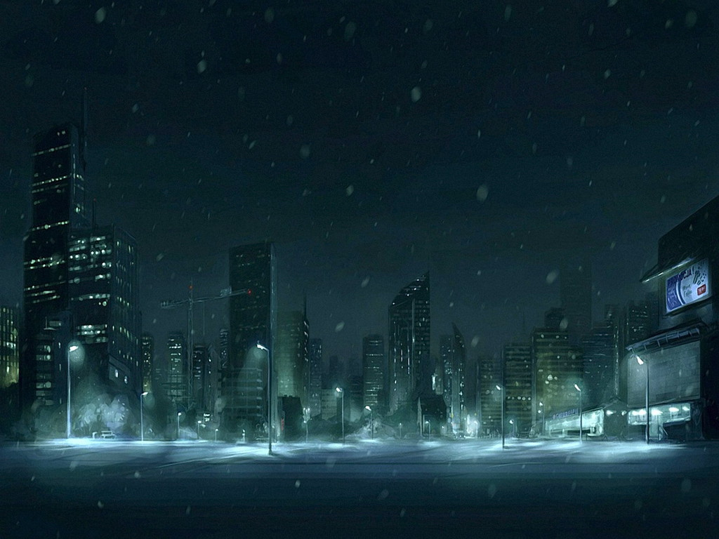 Snow City Free Screensavers (1024x768 pixel) Popular HD Wallpaper ...