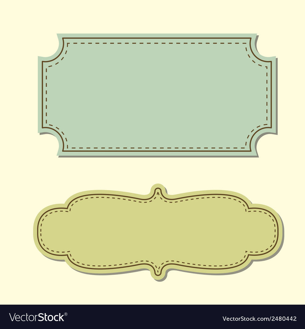 Vintage tag background Royalty Vector Image 1000x1080