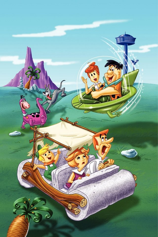 FlintStones   Download iPhoneiPod TouchAndroid Wallpapers 640x960