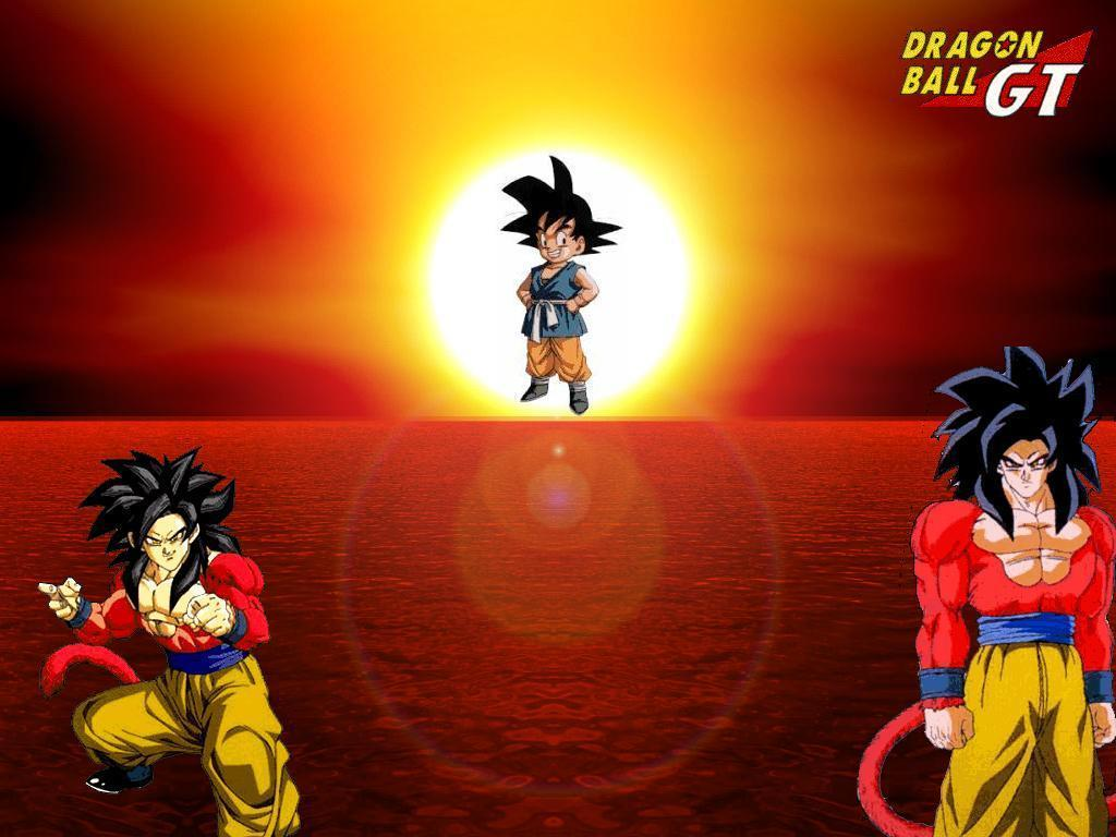 Ssj4 Goku GT Wallpaper 17299682 1024x768