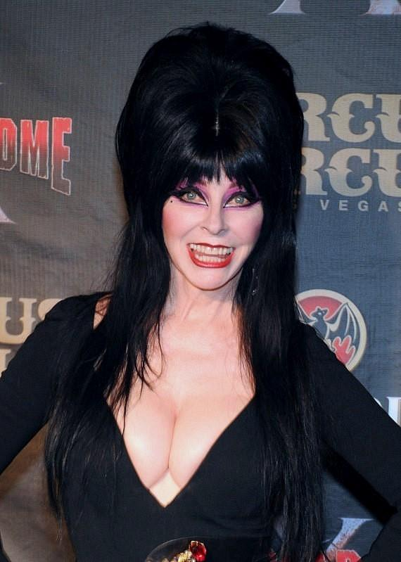 Elvira Mistress of the Dark celebrates the Grand Opening of Fright 570x799