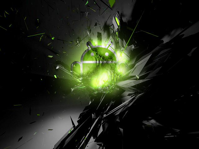 wallpaper for android phones with android robot logo   News and Apps 640x480