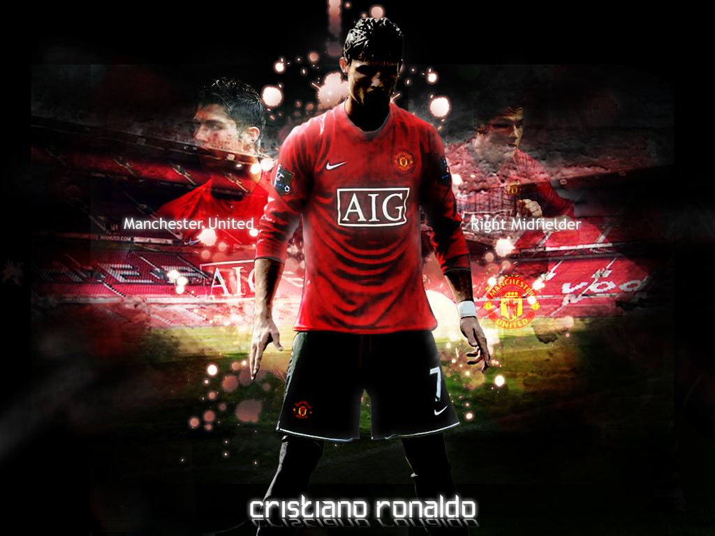 Barcelona Winner Cristiano Ronaldo Wallpaper 1024x768