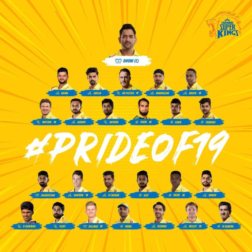 10 2019 Csk Players Wallpapers On Wallpapersafari