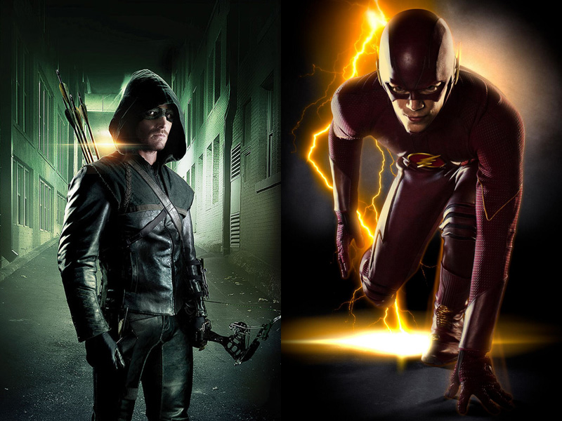 The Flash And Arrow Wallpaper Arrow and the flash promo 800x600