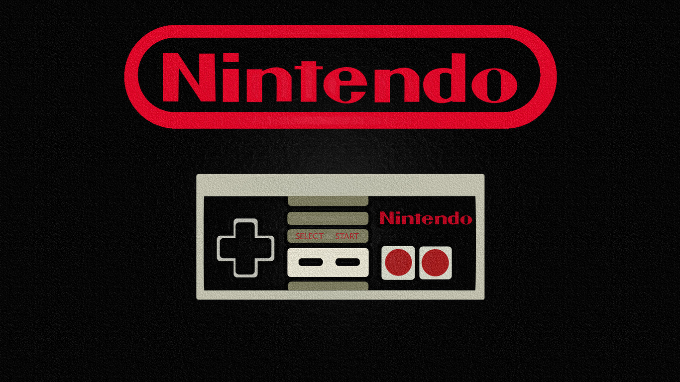 Nintendo controller wallpaper 5690 1366x768