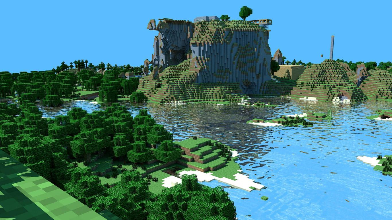 Minecraft Wallpaper in 1366x768 1366x768