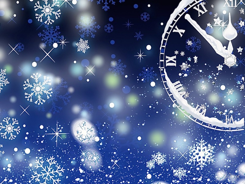 NYE Clock Countdown Wallpaper HD Downloads 800x600