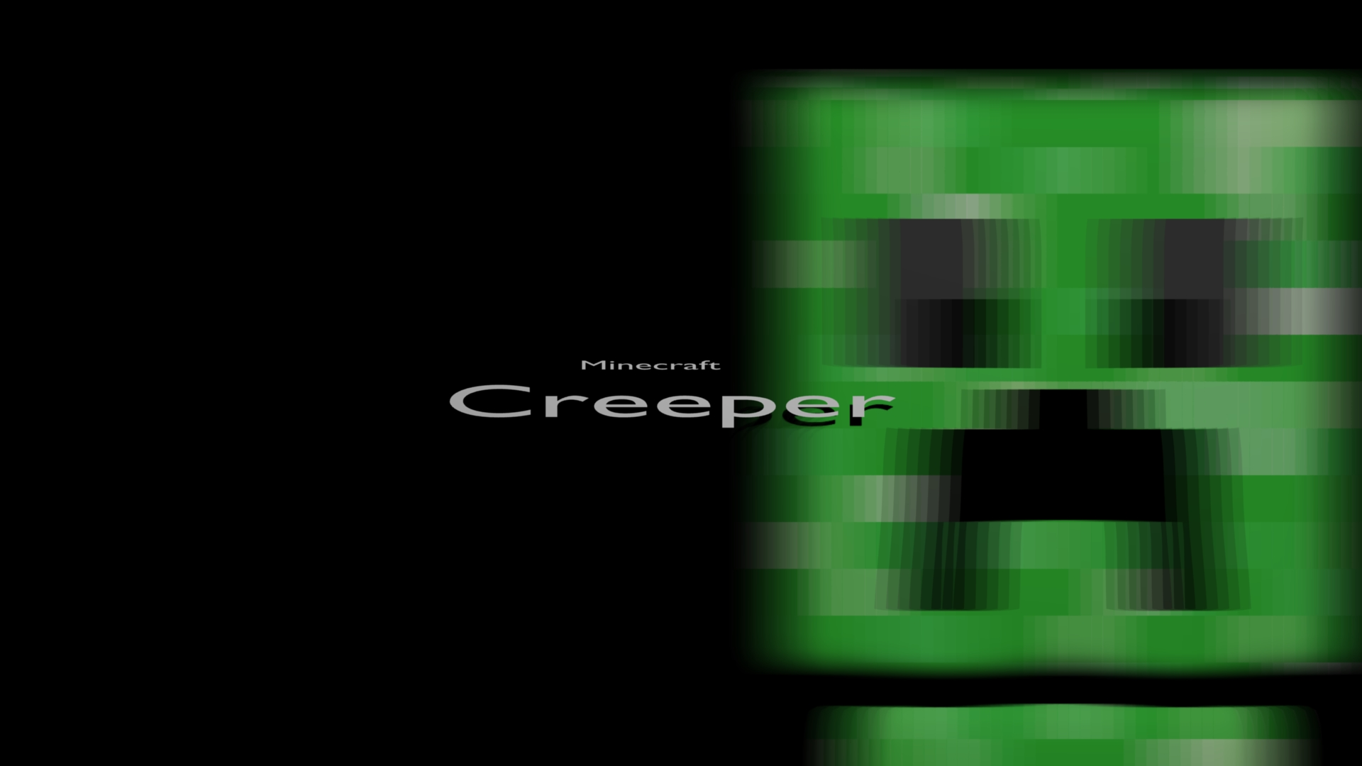 Minecraft Cool Wallpapers Creeper Creeper Minecraft Cool 1920x1080