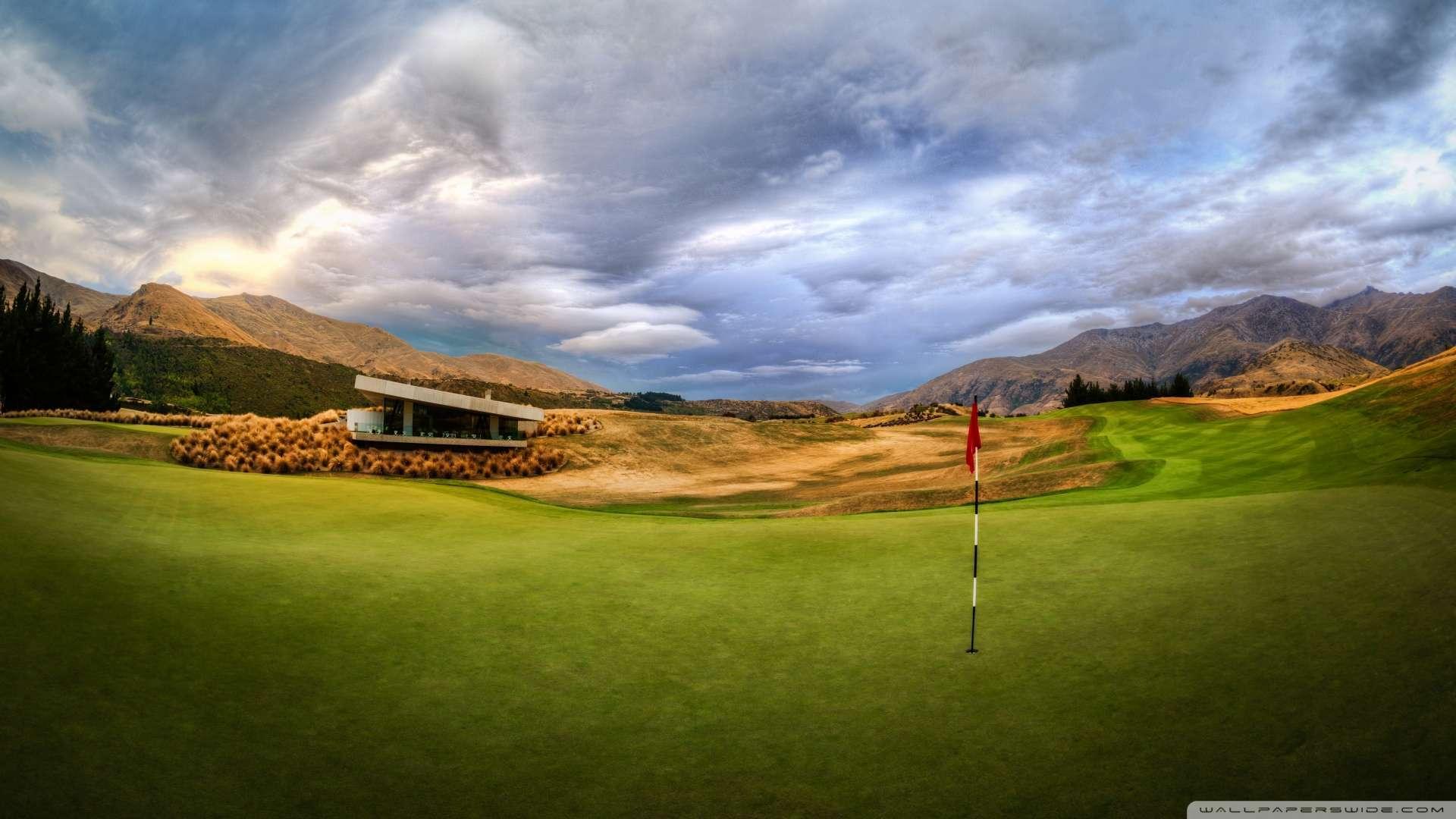 Wallpaper Beautiful Golf Course 2 Wallpaper 1080p HD Upload at 1920x1080