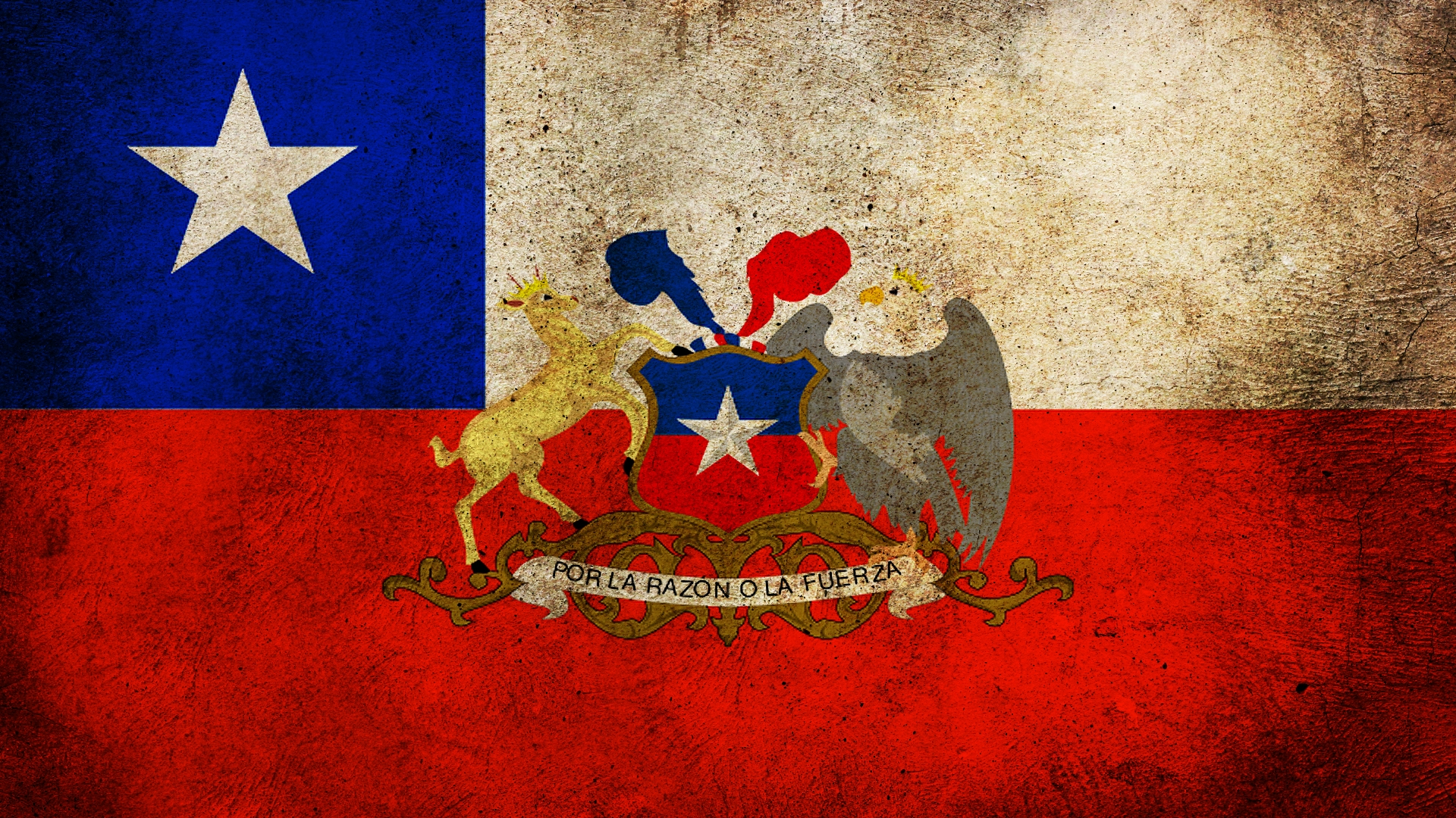 3 HD Chile Flag Wallpapers   HDWallSourcecom 1920x1080