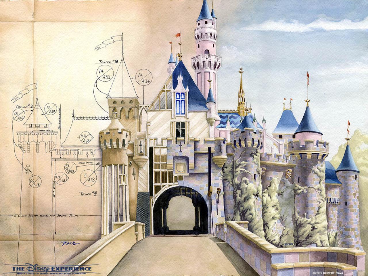 Disney Castle Wallpaper 1334 Hd Wallpapers in Cartoons 1280x960