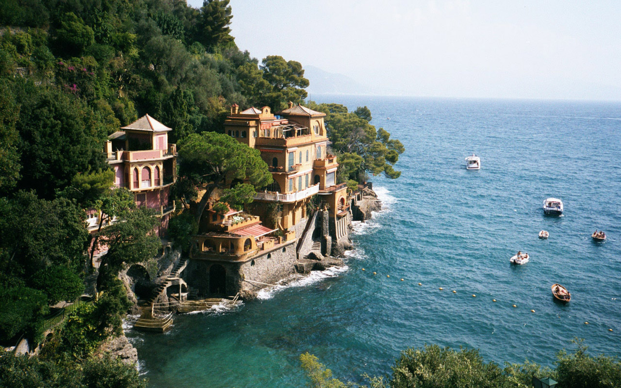 Home   Wallpapers Photographs   Locality   Portofino Genoa Italian 1280x800