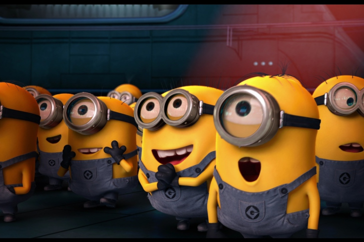 Minions Wallpaper for Android iPhone and iPad 728x485