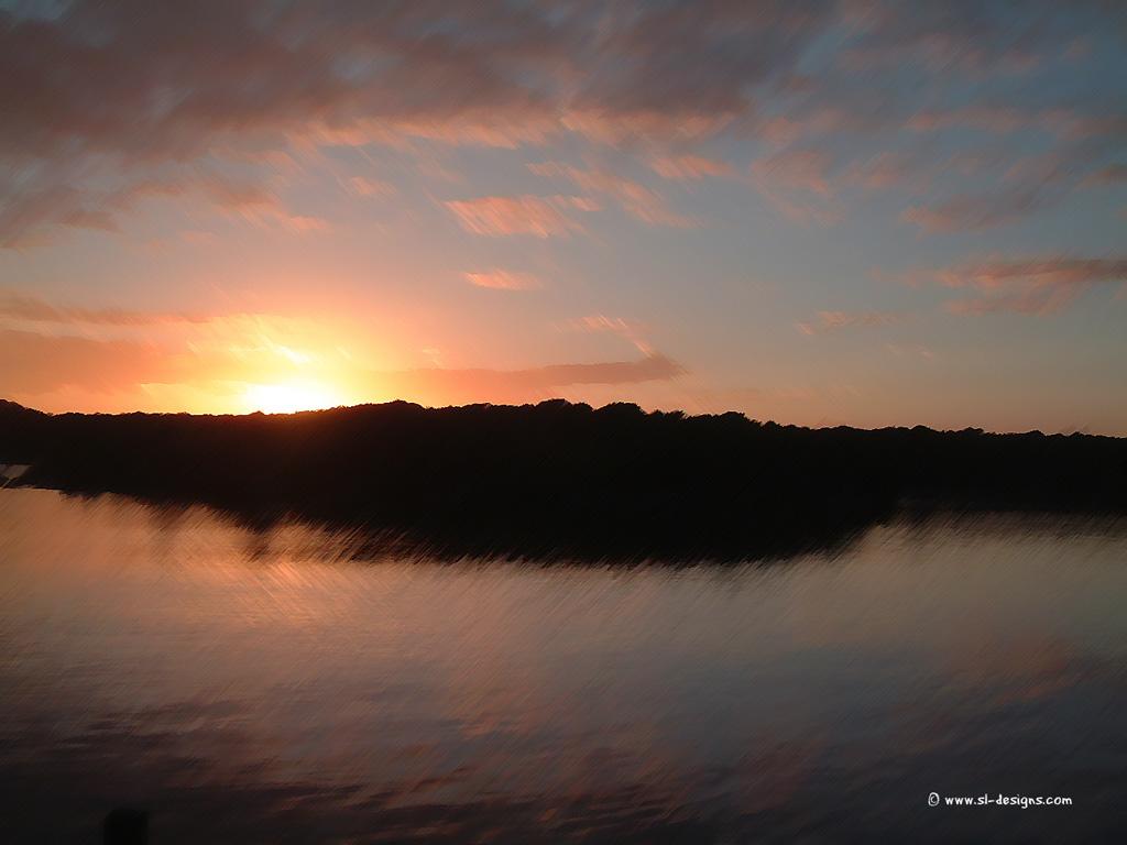 Sunset Desktop Wallpaper 1024x768