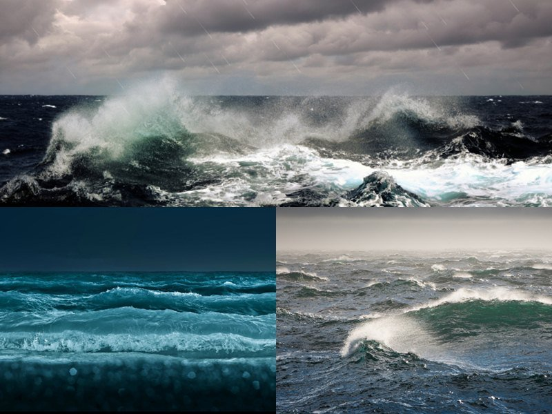 Ocean Waves Animated Wallpaper   DesktopAnimatedcom 800x600