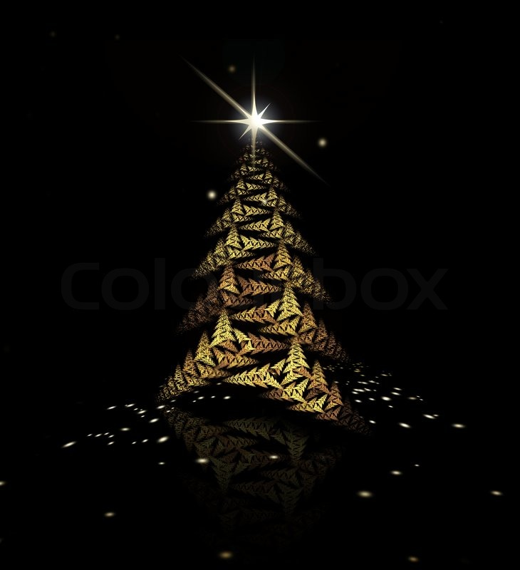 gold christmas tree wallpaper - photo #35
