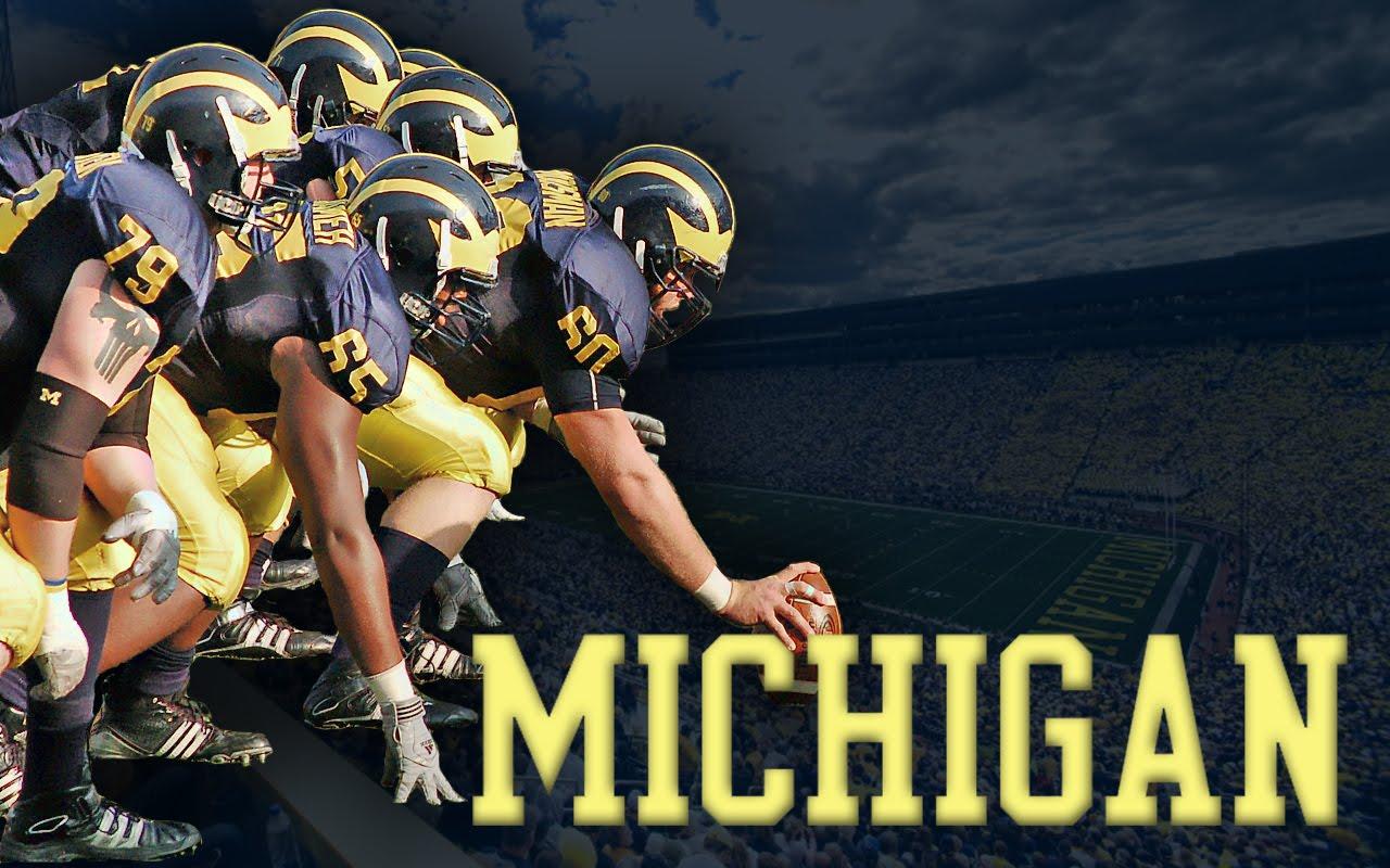 Football Screensavers And Wallpaper: University Of Michigan Screensaver Wallpaper