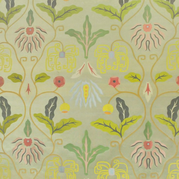 Fabric Wallpaper Clarence House Fabric and Wallpaper I Love Pi 736x736