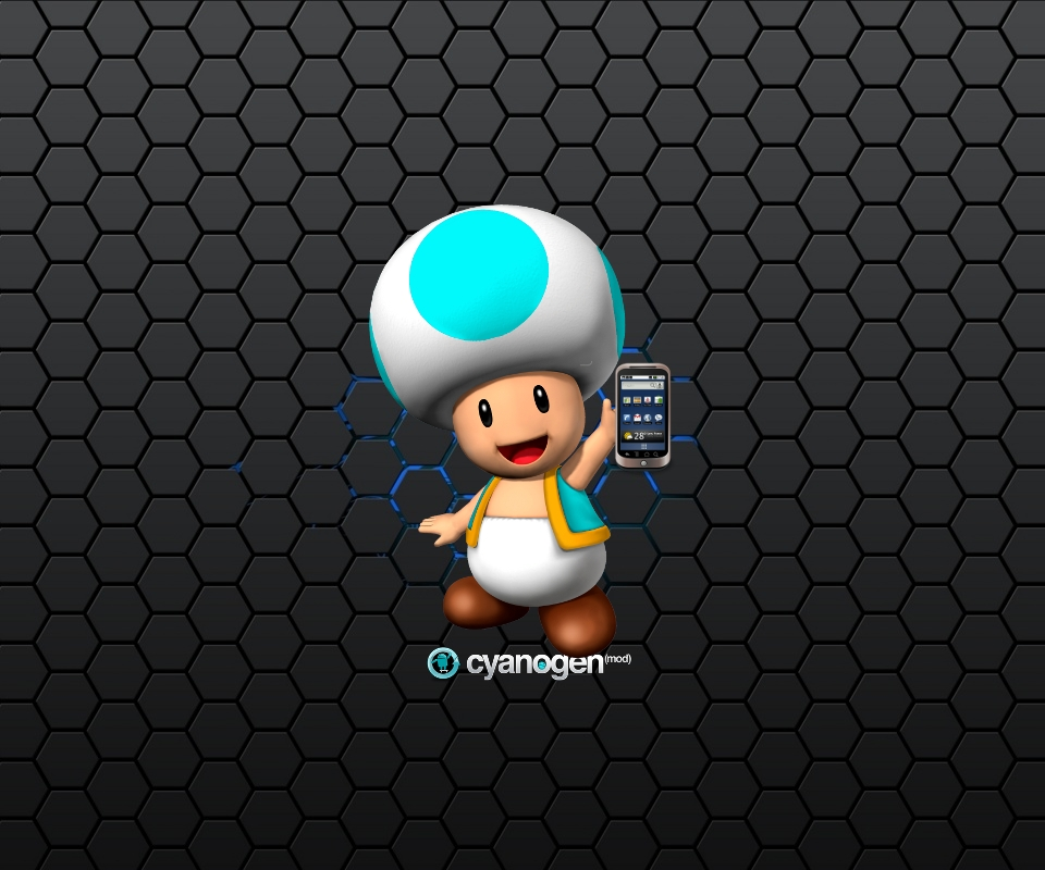 Cyanogen Wallpaper loopelecom 960x800