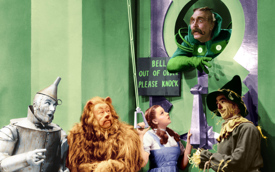 Free Download Wizard Of Oz Wallpaper Border 900x562 For