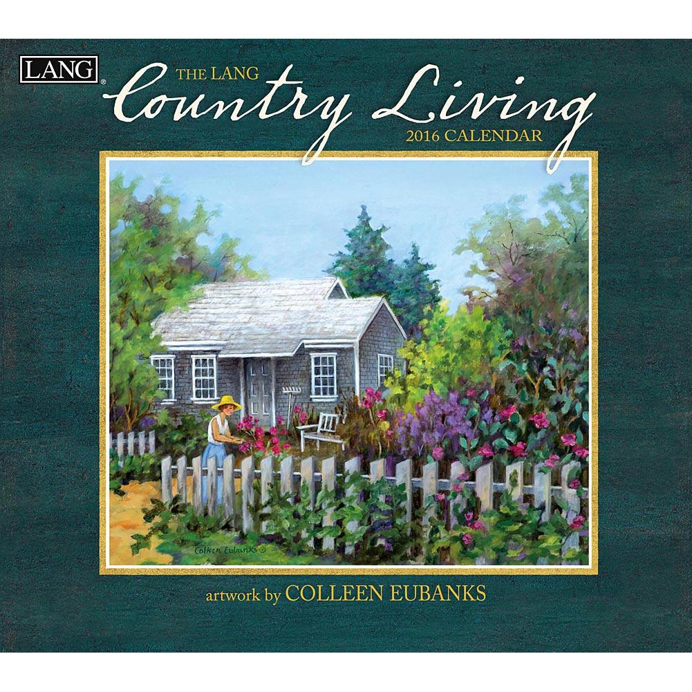 Country Living 2016 Wall Calendar 9780741251022 Calendarscom 1001x1001