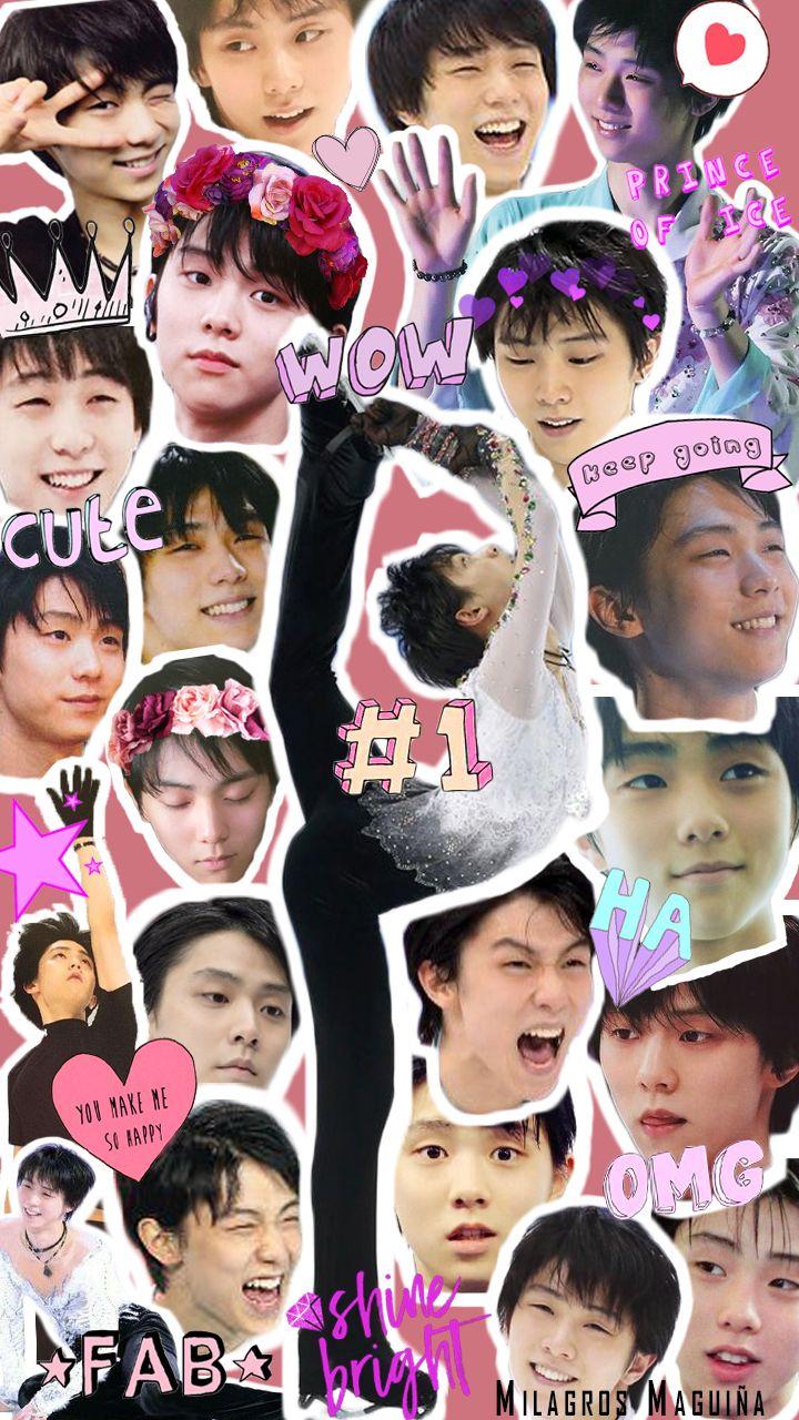Yuzu Wallpaper Collage Cute YuzuruHanyu yuzuru hearteu Hanyu 720x1280