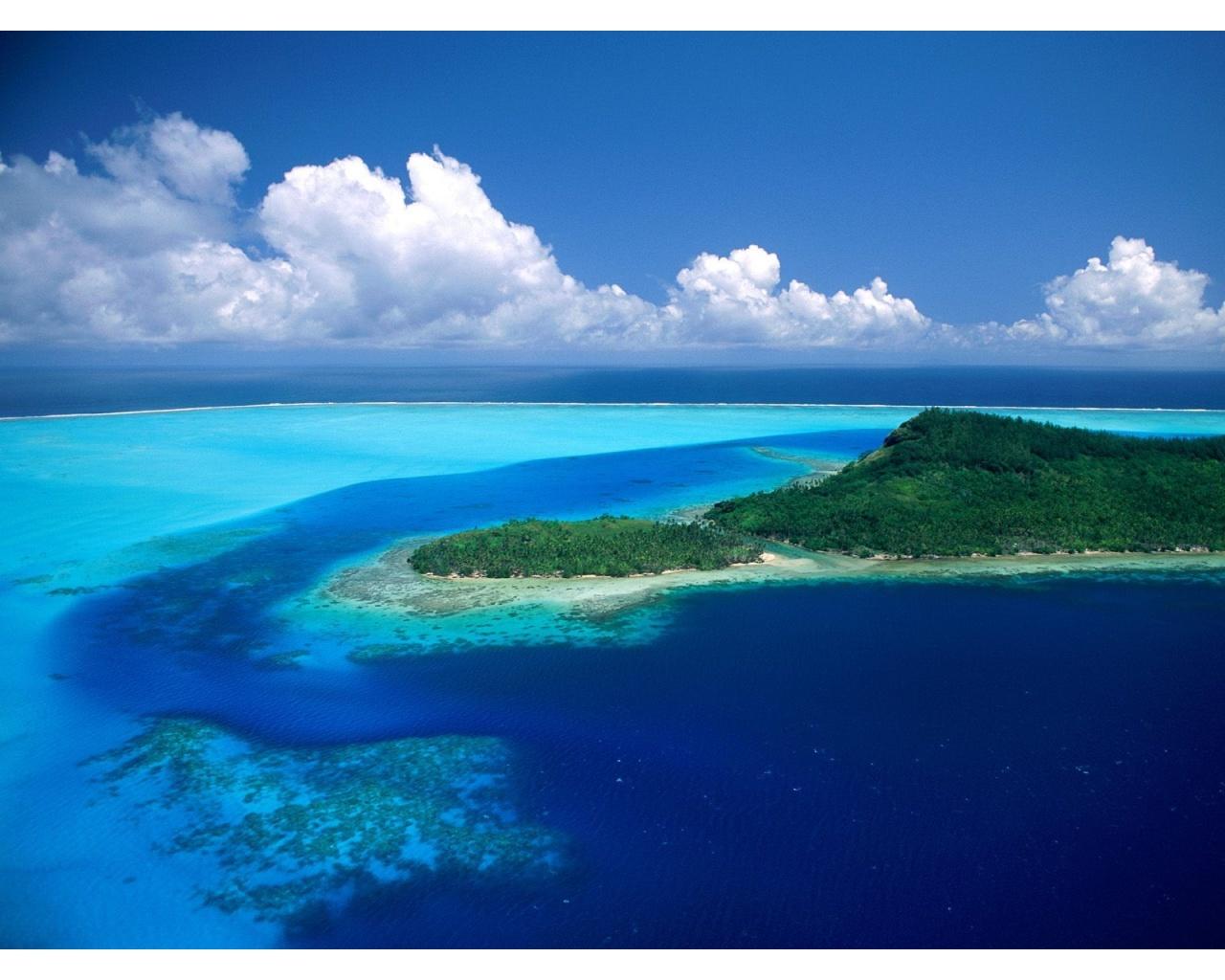 Bora Bora Island 1280 x 1024 Download Close 1280x1024
