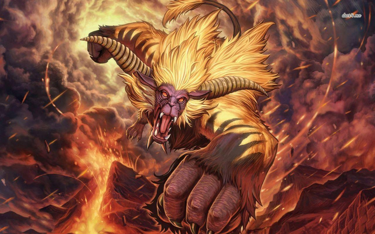 Rajang   Monster Hunter wallpaper   Game wallpapers   30720 1280x800