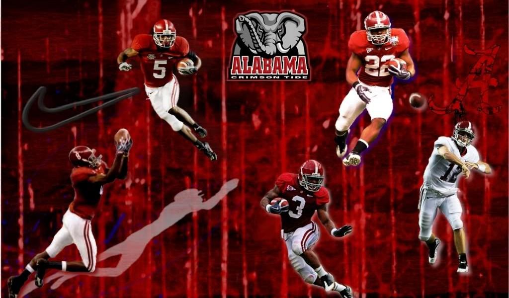 alabama football desktop wallpaper wallpapers55com   Best 1024x600