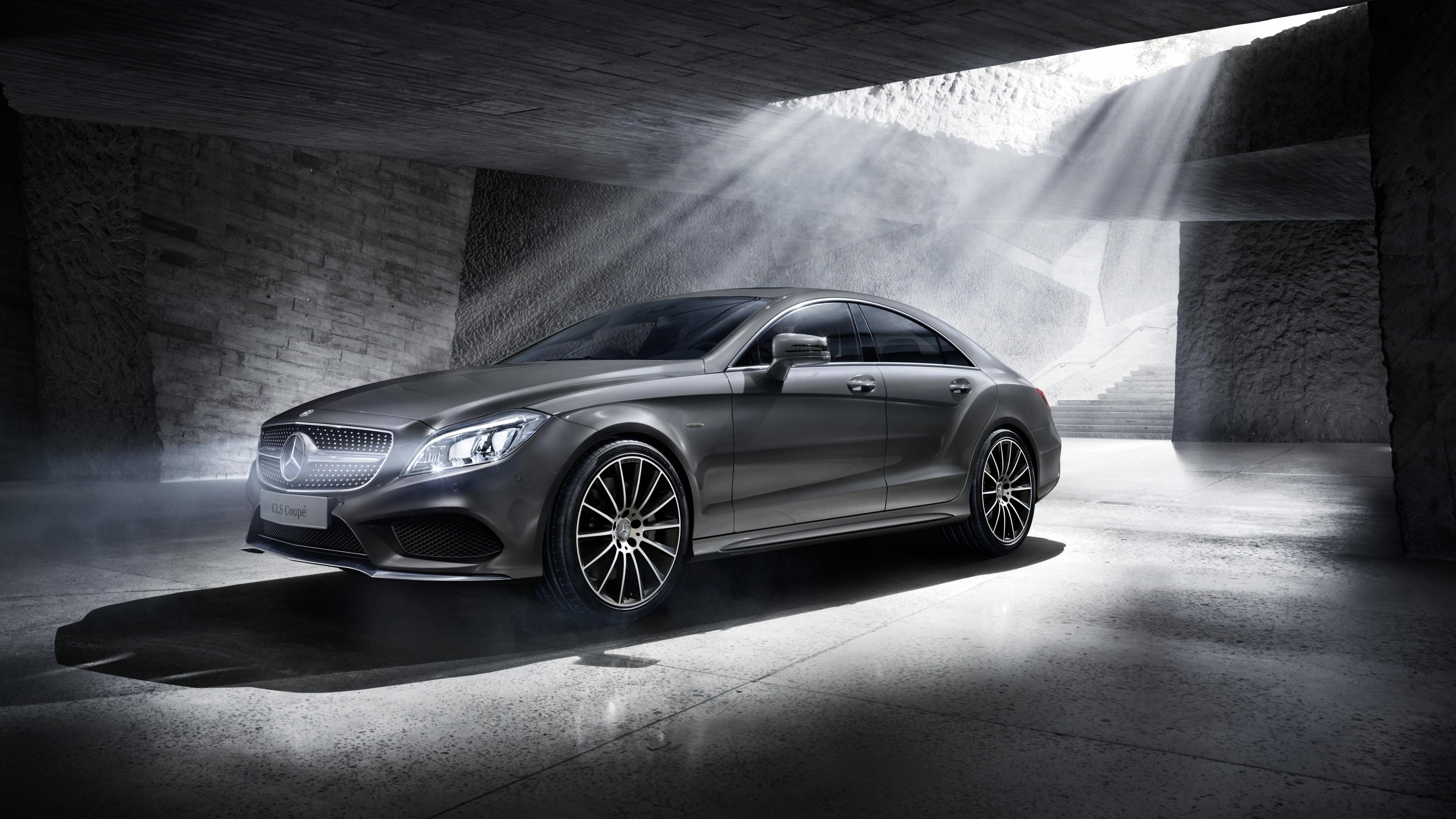 2016 Mercedes Benz CLS Coupe Final Edition Wallpaper HD 3840x2160