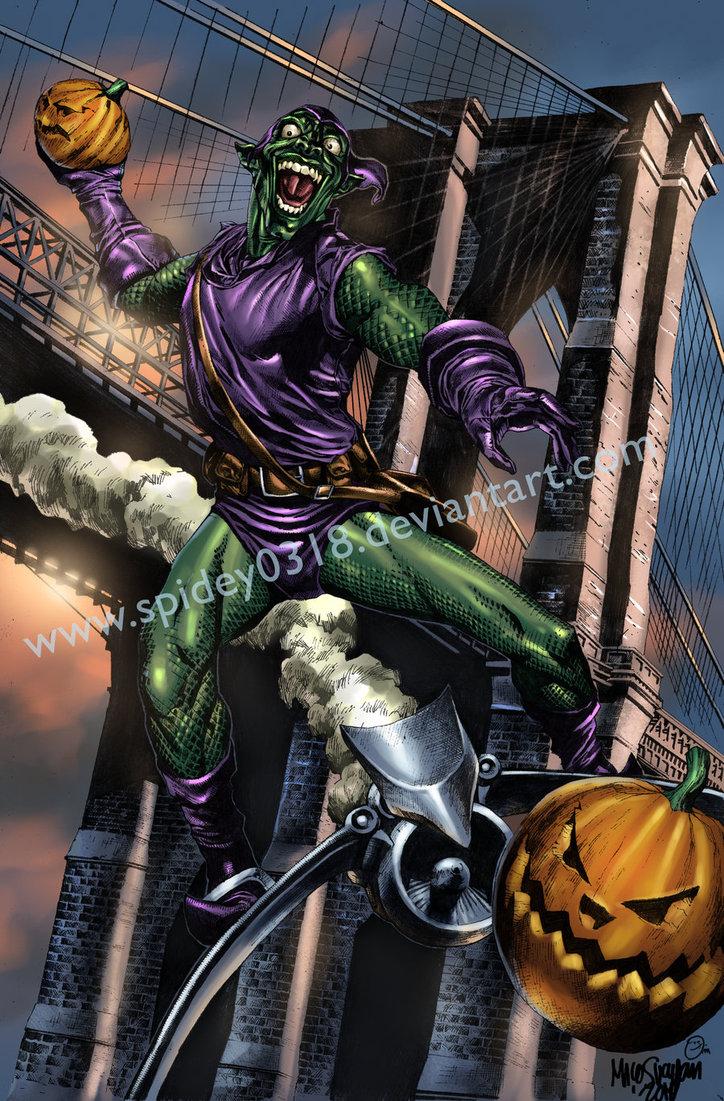 Marvel green goblin wallpaper wallpapersafari - Hobgoblin wallpaper ...