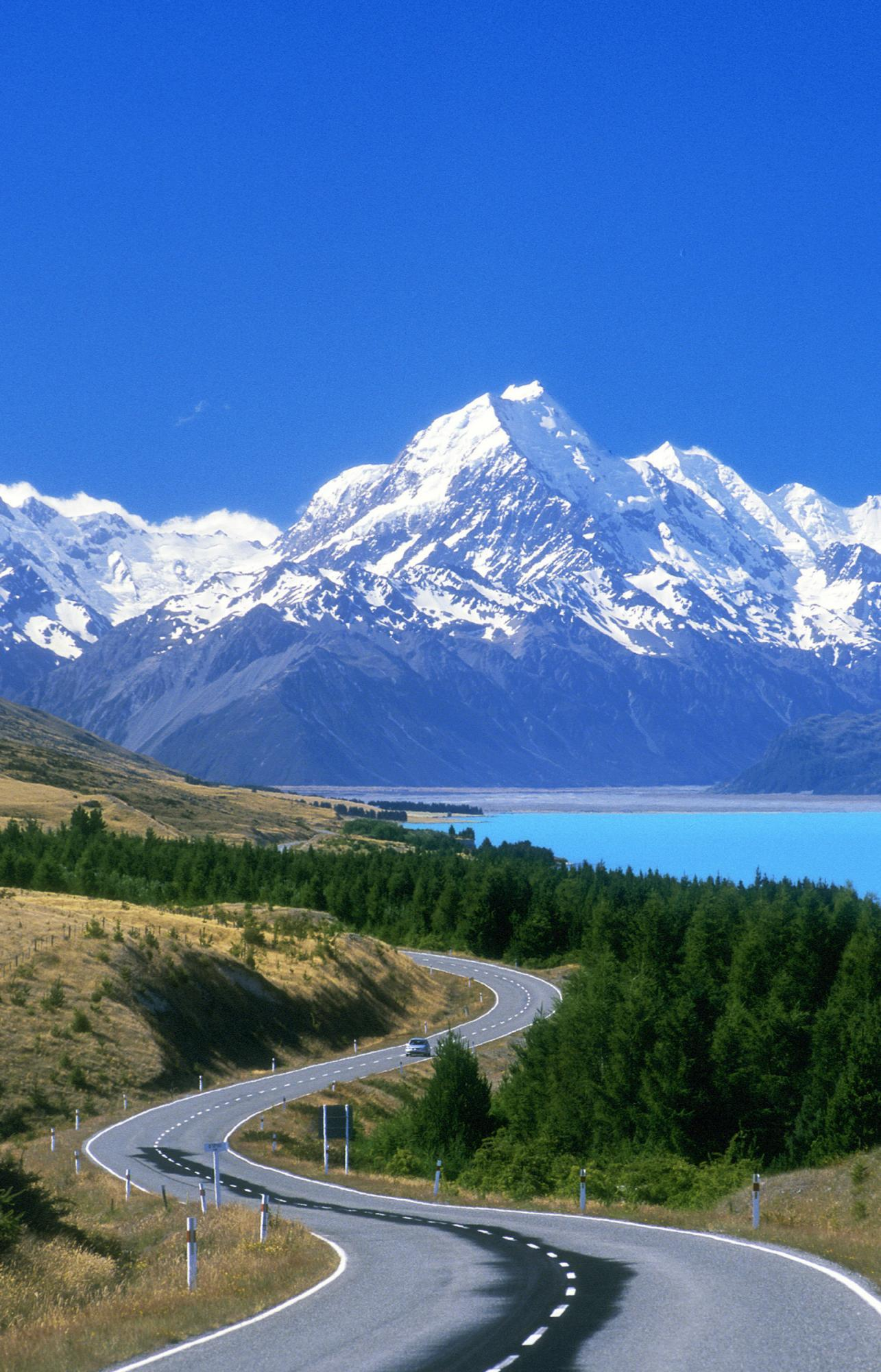 new zealand scenery Car Pictures 1285x2000