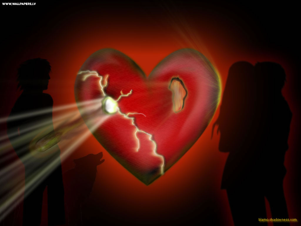 Broken Heart Wallpaper 1024x768
