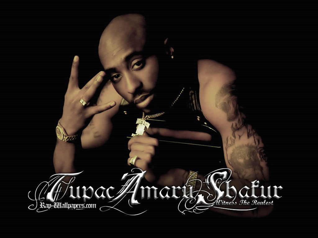 Tupac Shakur Wallpaper 1024x768