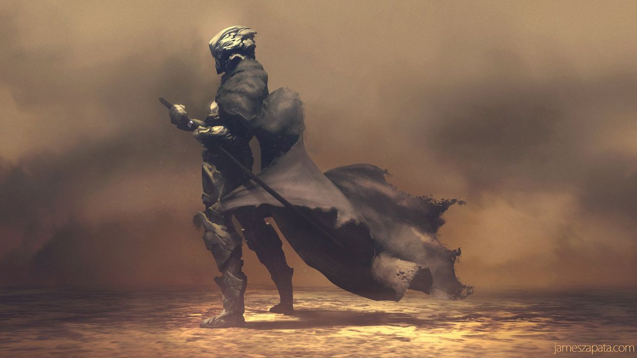 NOMAD cloak sword dust james Zapata wallpaper 1920x1080 447142 1244x700
