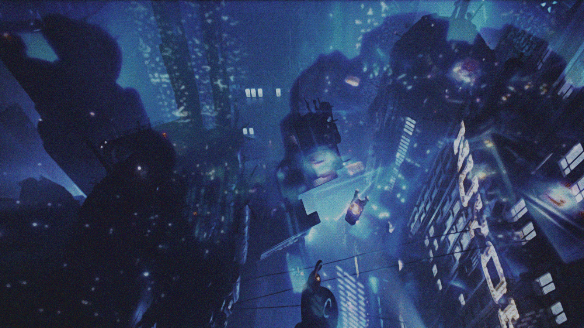 blade runner city wallpaper Alien Fiction 1920x1080