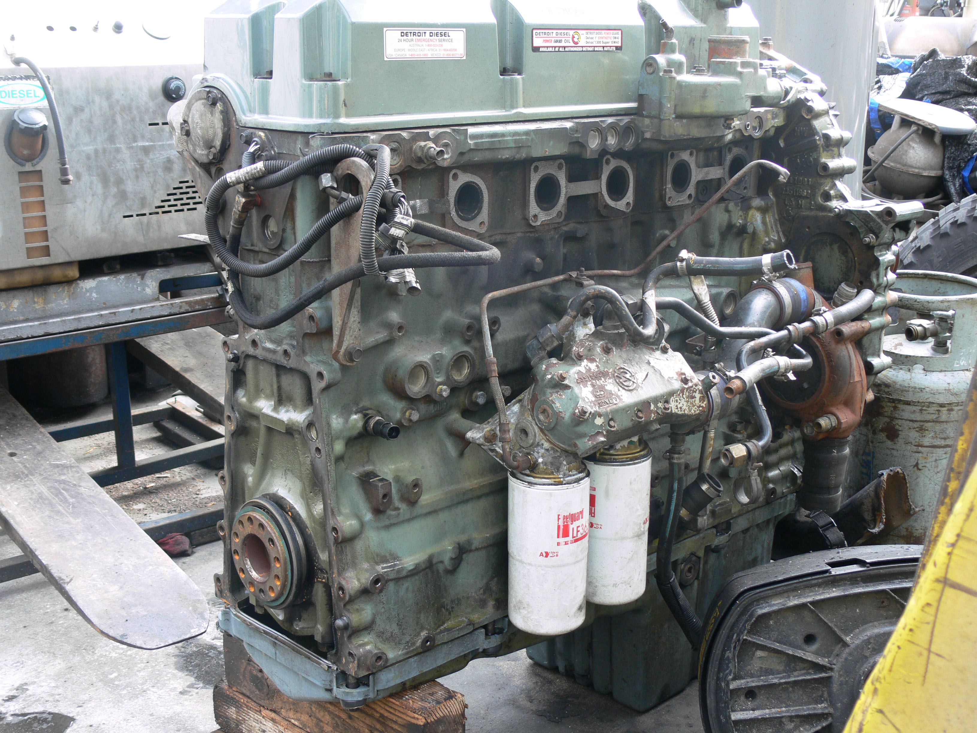Detroit diesel series 60 engine images, detroit diesel series 60 engine photos, detroit diesel photos, detroit diesel