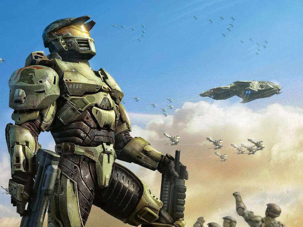 Halo Wars Spartan Wallpaper 4236 Hd Wallpapers in Games   Imagescicom 1024x768