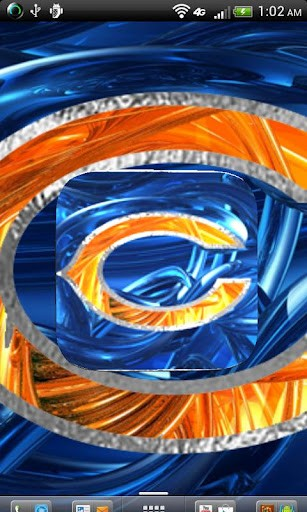 View bigger   Chicago Bears Wallpaper Art for Android screenshot 307x512