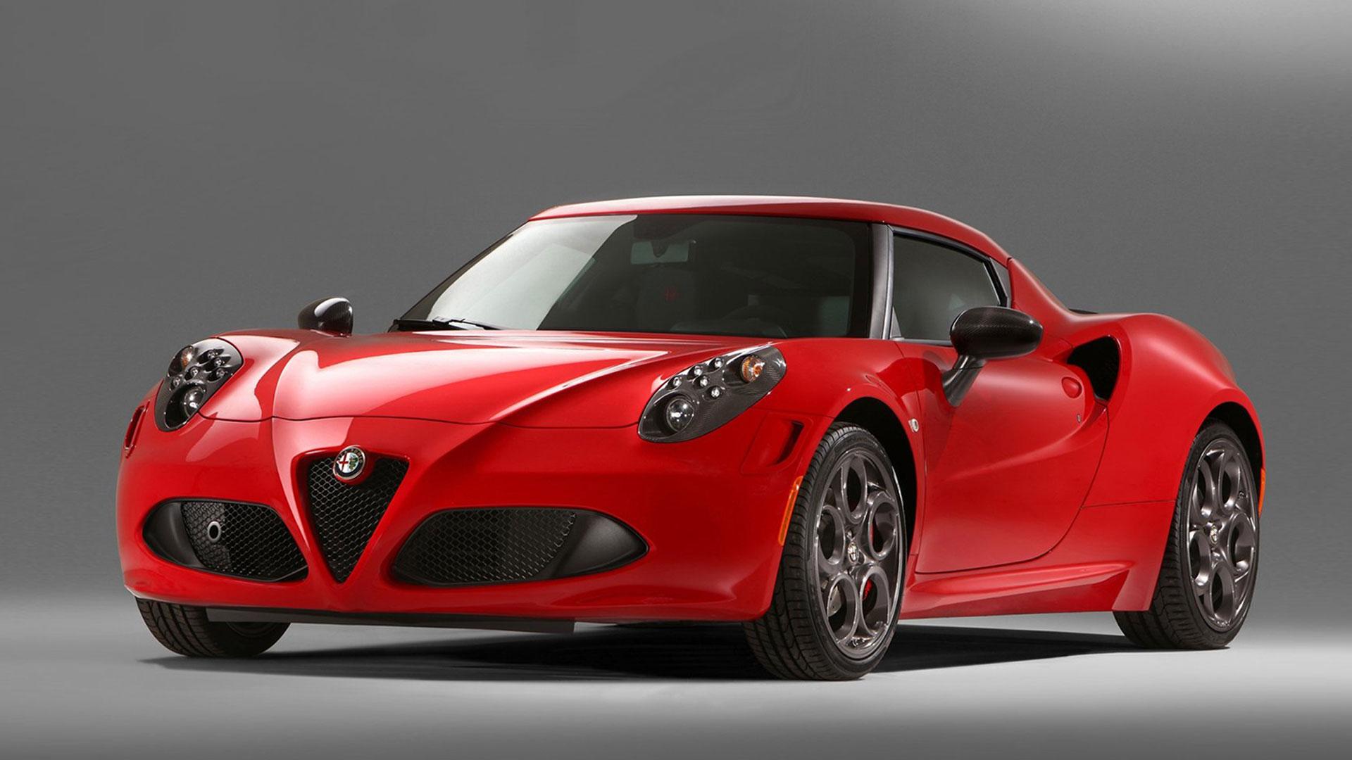 Free Download Get Red Alfa Romeo 4c Wallpaper Wallpaper For