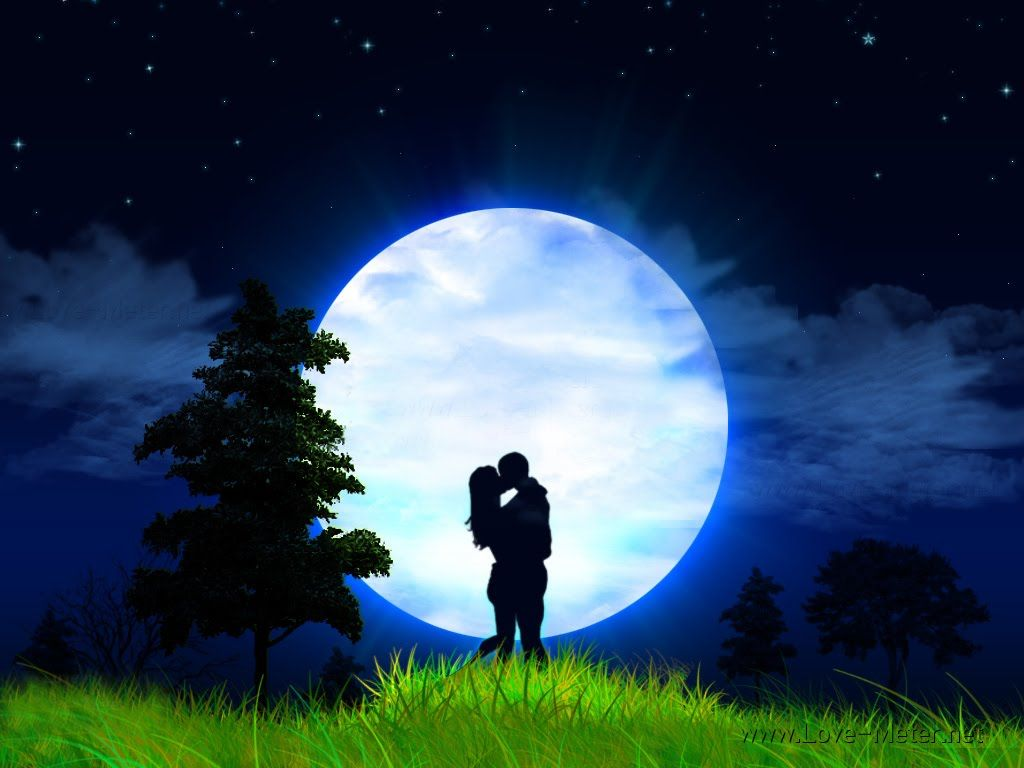 Beautiful Moonlight Wallpapers Full Moon Twitter Backgrounds 1024x768
