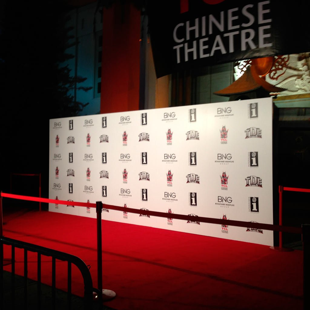 Banner Photo Backdrop Printing in Los Angeles by Red Carpet Systems 1024x1024