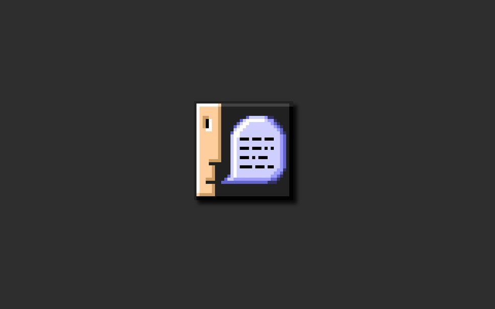 Old Mac OS Information Icon wallpaper   ForWallpapercom 969x606