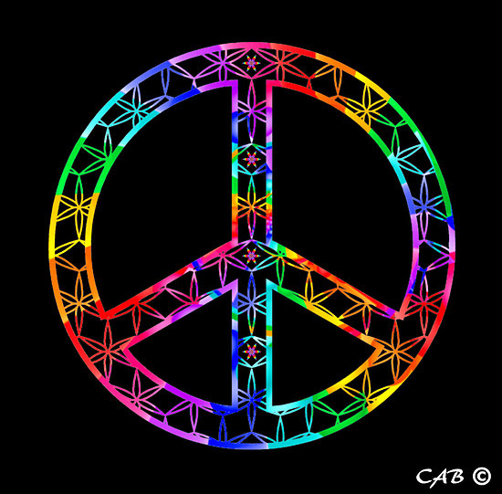 Wallpaper Of Peace: Cool Peace Sign Wallpaper